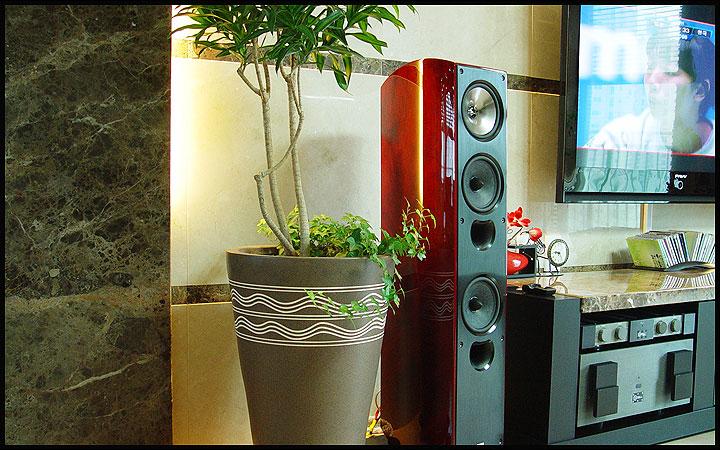 Sonic Synergy: KEF XQ40 Floorstanding Loudspeaker
